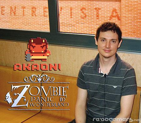 Entrevista José Manuel Íñiguez, Akaoni Studio (Zombie Panic in Wonderland)