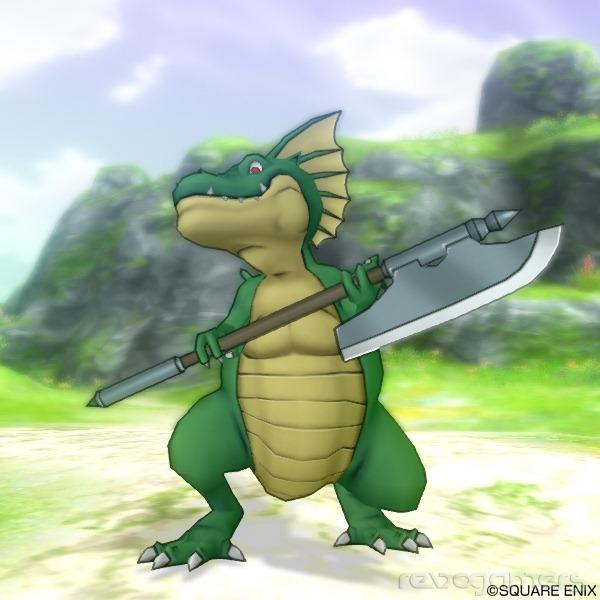 Monstruos Dragon Quest X Wii U