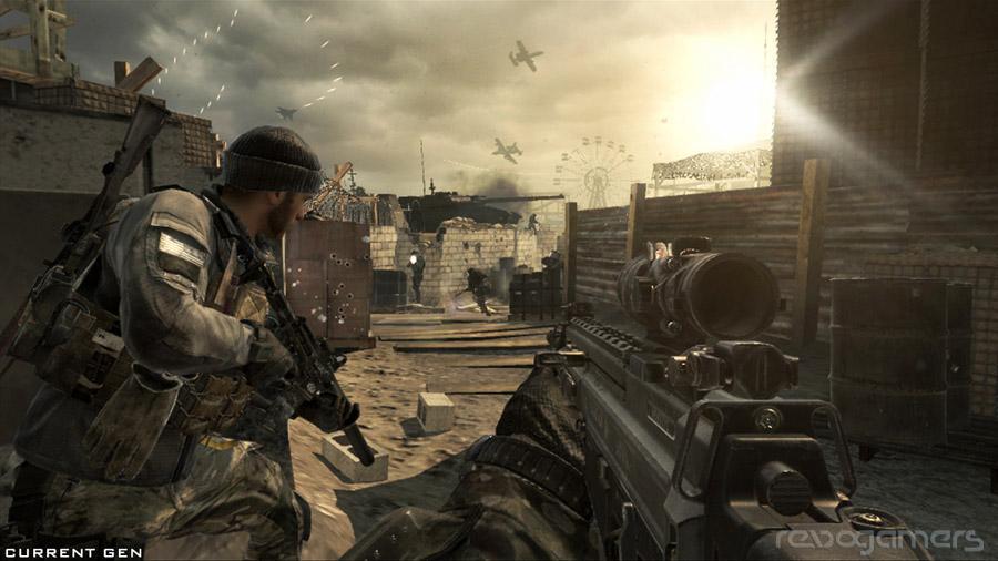 Call of Duty: Ghosts análisis wii u