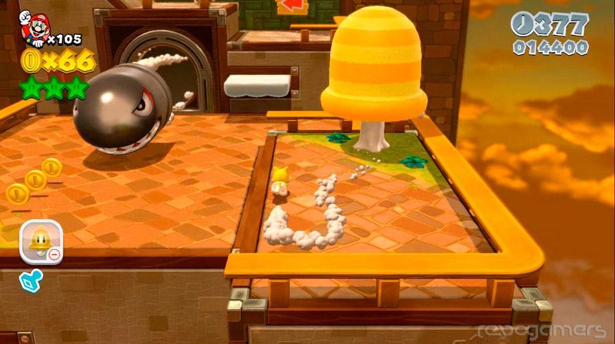 Super Mario 3D World Wii U análisis