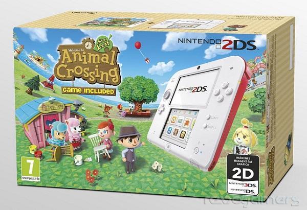 Primeros Packs De Nintendo 2ds Con Pokemon Mario Kart Y Animal