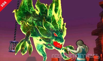 Super Smash Bros 3DS Rescate Mii