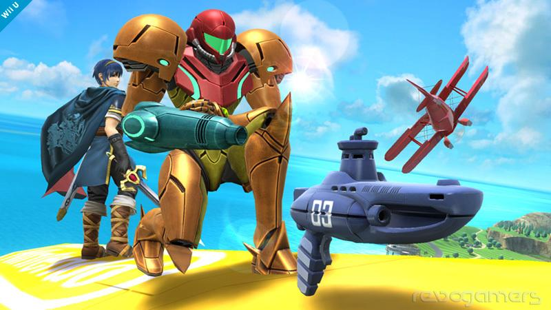 fusil-submarino Smash Bros