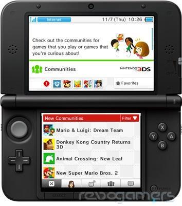 Miiverse en Nintendo 3DS