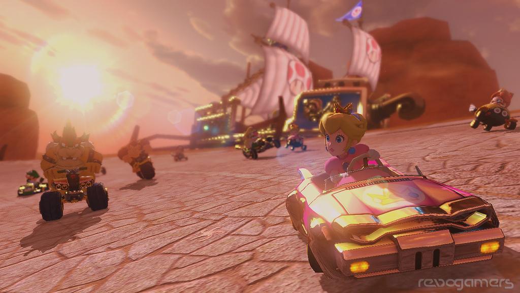 Mario Kart 8 vehículo