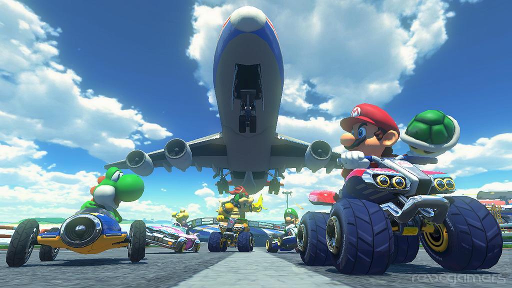 Mario Kart 8 vehículo nuevo