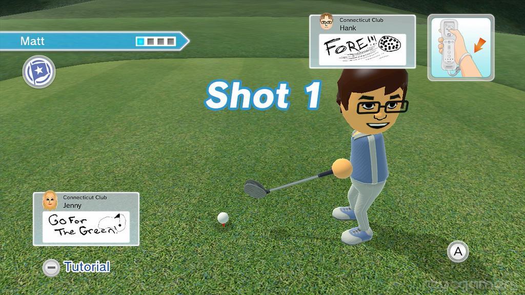 Análisis Wii Sporst Club Golf Wii U
