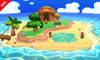 Tortimer Super Smash Bros. 3DS
