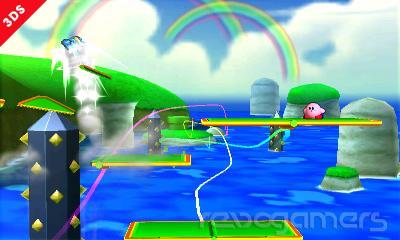 Super Mario 3D Land en Super Smash Bros. 3DS.