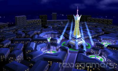 Ciudad Luminaria Pokémon en Super Smash Bros. 3DS