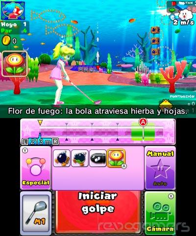 Impresiones Mario Golf World Tour Nintendo 3DS
