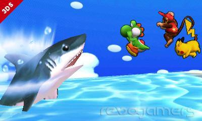 Escenarios Super Smash Bros 3DS