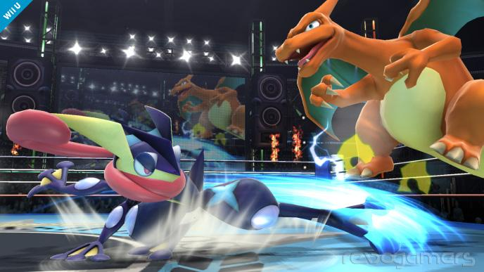 Charizard y Greninja son los nuevos luchadores del Super Smash BrosGreninja Super Smash Bros