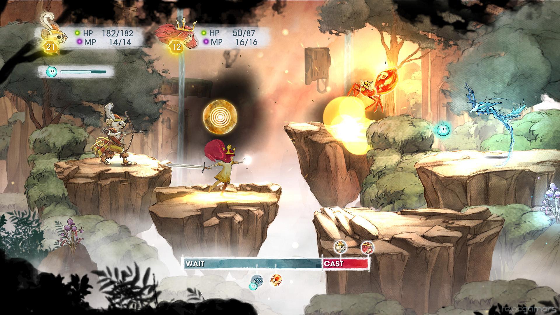 Análisis Child of Light Wii U