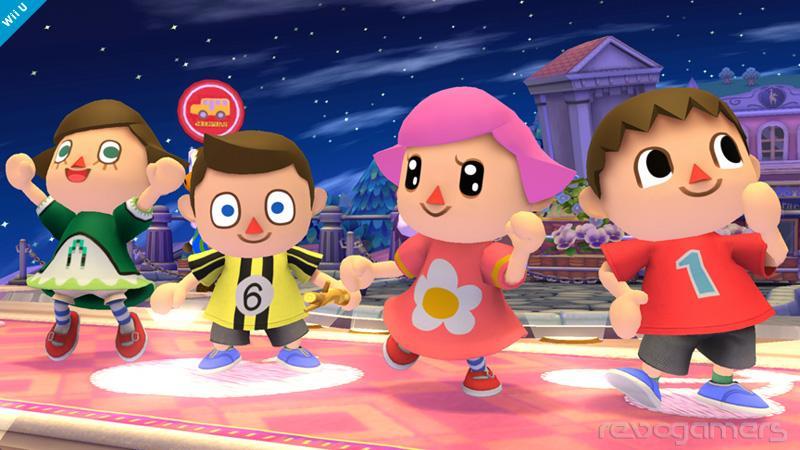 Aldeana Animal Crossing en Super Smash Bros.Wii U y 3DS