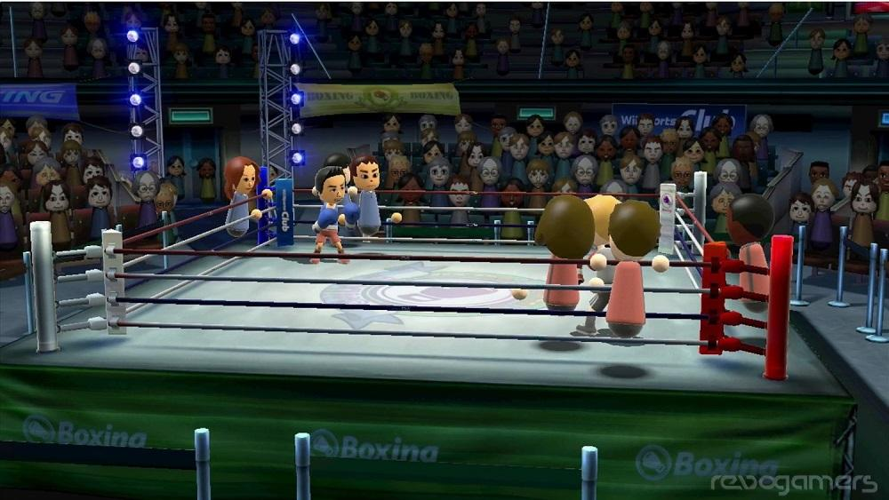 Wii Sports Club boxeo Wii U