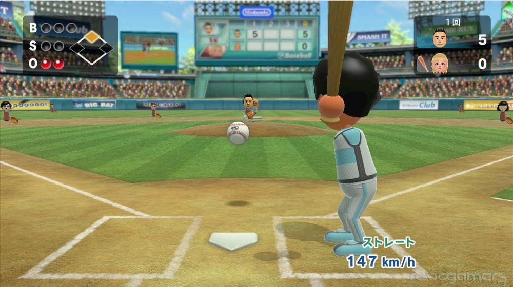 Wii Sports Club béisbol Wii U