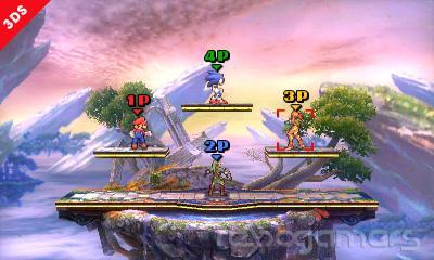 Super Smash Bros. 3DS táctil