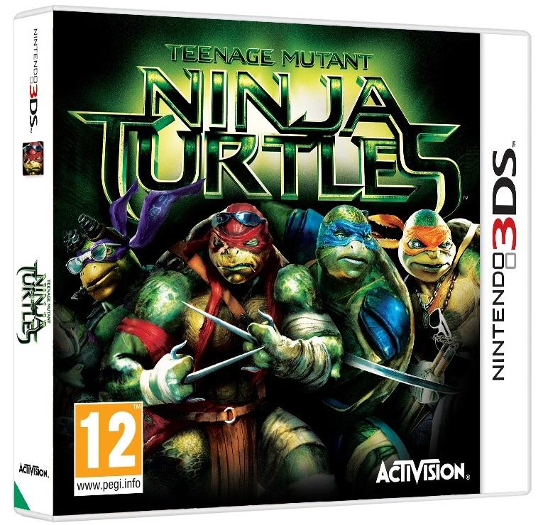 Teenage Mutant Ninja Turtles Nintendo 3DS pelicula
