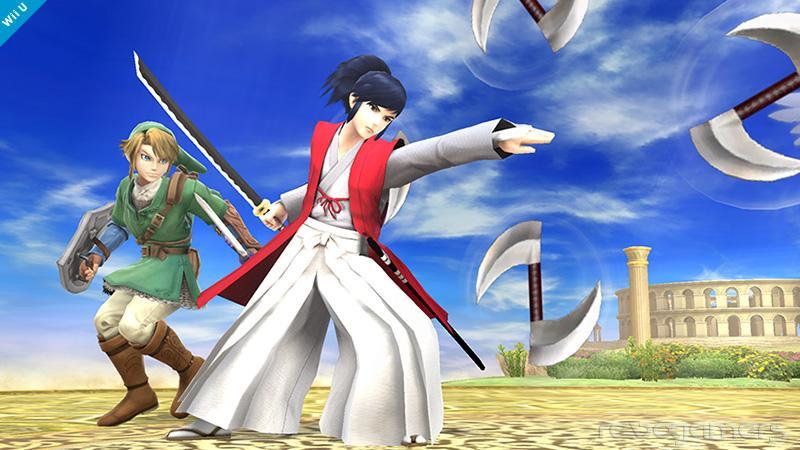 Takamaru Super Smash Bros Wii U