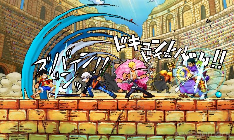 One Piece: Super Grand Battle! X Nintendo 3DS