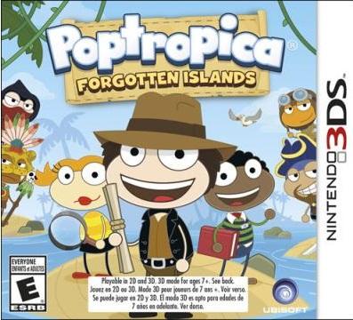 Poptropica Forgotten Island Nintendo 3DS