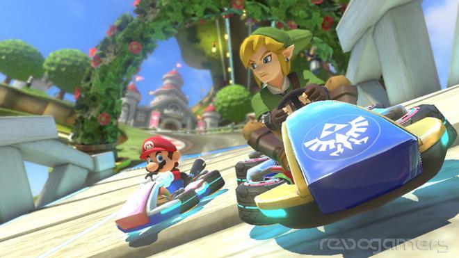 DLC The Legend of Zelda Mario Kart 8