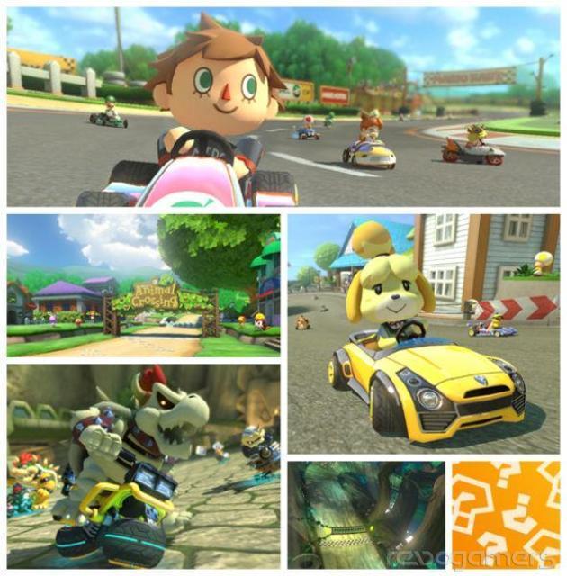 DLC Animal Crossing Mario Kart 8