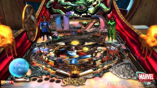 Zen Pinball 2 Wii U Doctor Strange