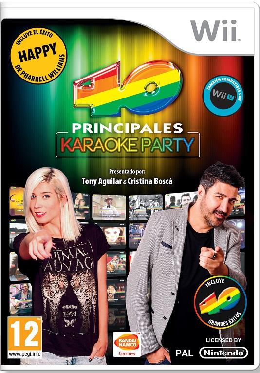 Los 40 Principales Karaoke Party Wii