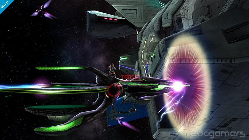 Escenario Star Fox de Super Smash Bros Wii U