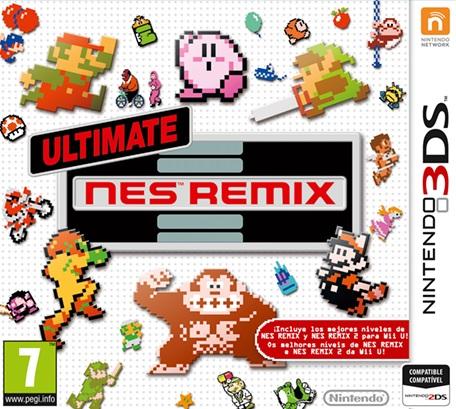 juegos de Ultimate NES Remix de Nintendo 3DS