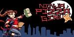 Ninja Pizza Girl est� muy cerca de entregar el pedido en Wii U