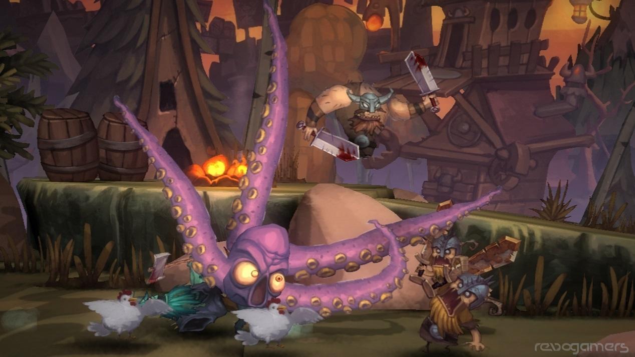 Zombie Vikings Wii U
