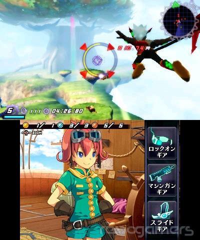 Rodea the Sky Soldier 3DS imagenes