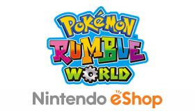 Nintendo relanza Pok�mon Rumble World en formato f�sico el 22 de enero