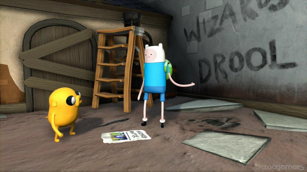 Hora de Aventuras: Finn y Jake investigadores Wii I