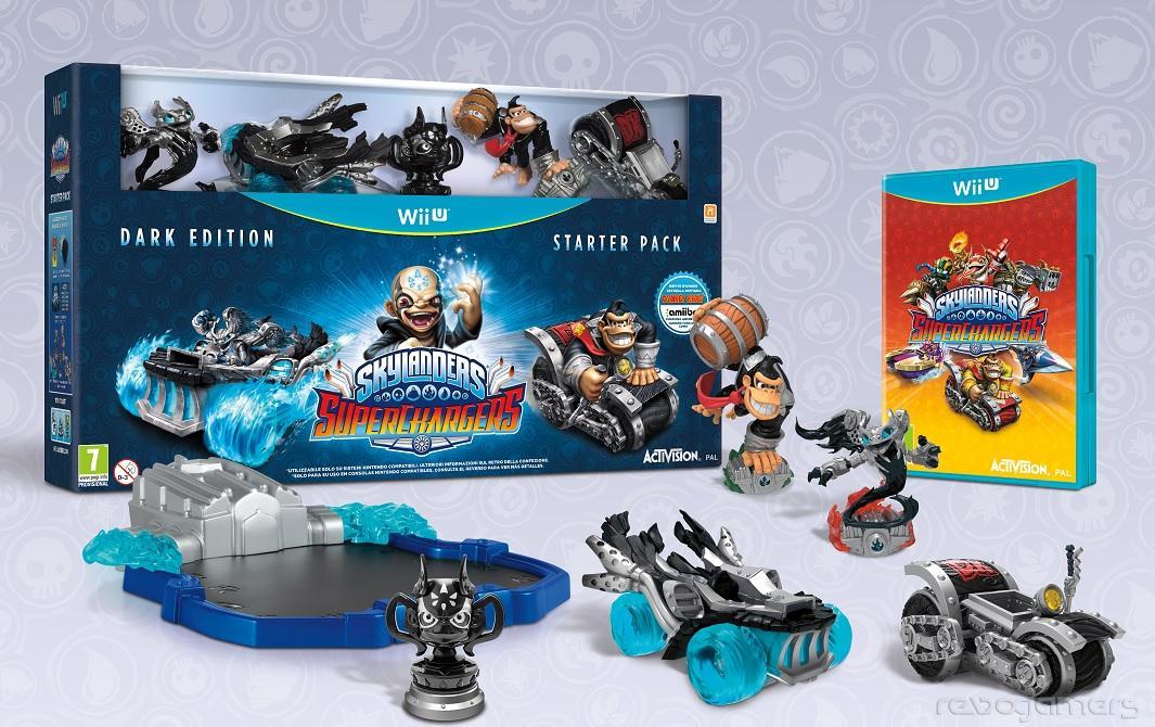 Skylanders SuperChargers Dark Edition Wii U