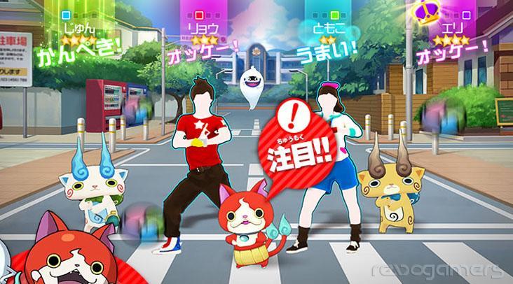 Just Dance Yo-kai Watch Wii U