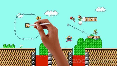 Super Mario Maker escenario Super Smash Bros. Wii U