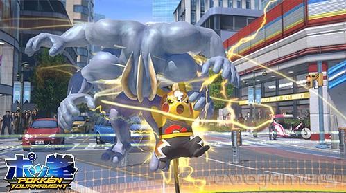 Pikachu Libre Pokkén Tournament