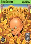 Bonk,s Adventure cover PC Engine usa