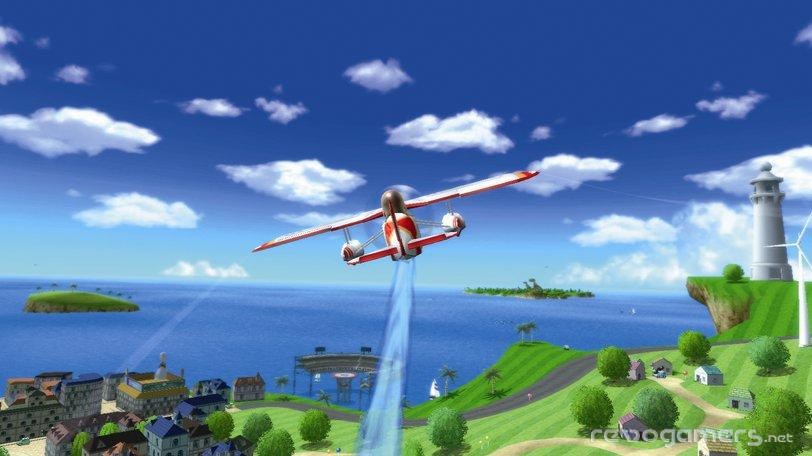 Wii Sports Resort avioneta