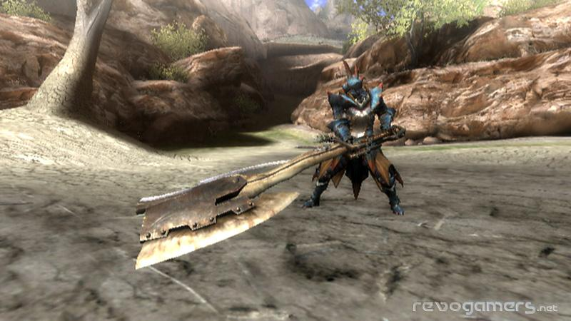 Monster Hunter Tri armas