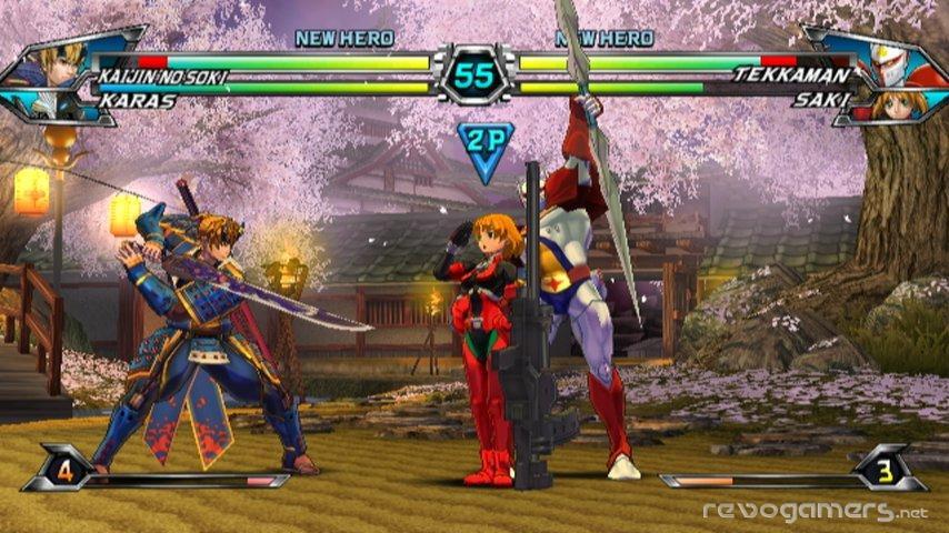 Tatsunoko vs. Capcom: Ultimate All-Star (Cross Generation of Heroes)