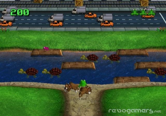 Frogger Returns Wii WiiWare revogamers