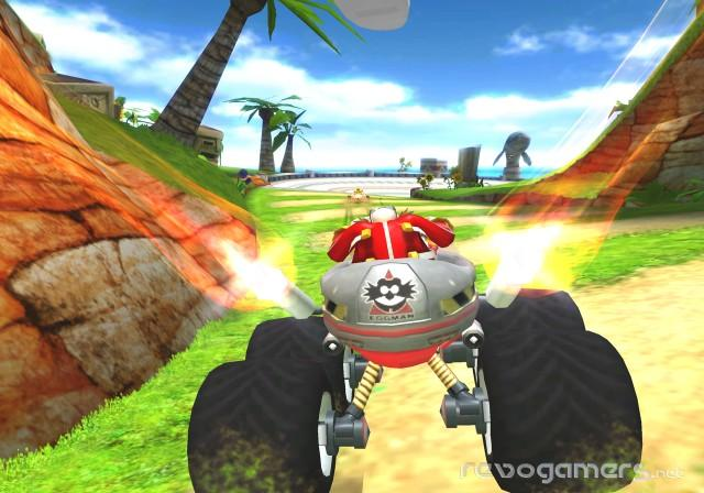 sonic and sega all-stars racing impresiones wii revogamers
