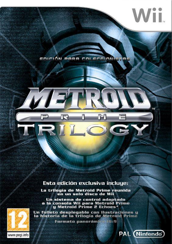 Metroid Prime Trilogy PAL
