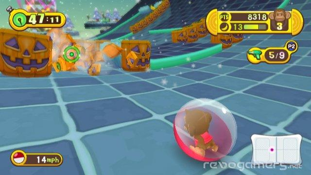 super monkey ball step & Roll análisis wii revogamers
