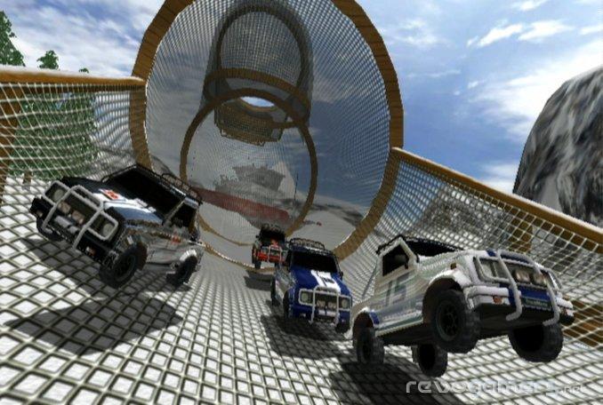 trackmania wii screenshots